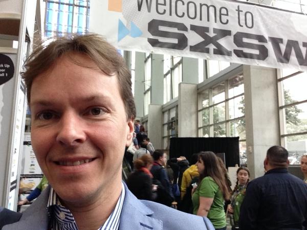 Jacob på SXSW